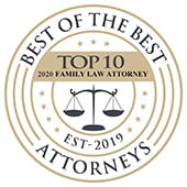 Best of the Best Attorneys | Top 10 Family Law Attorney 2020